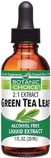 Green Tea Leaf, Energy Booster, Strong Antioxidant, Weightloss Support, Alchohol Free Liquid Extract, 1 Fluid Ounce