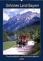 Schoenes Land Bayern (Wandkalender 2022 DIN A2 hoch): Traumlandschaften und Sehenswuerdigkeiten (Planer, 14 Seiten )