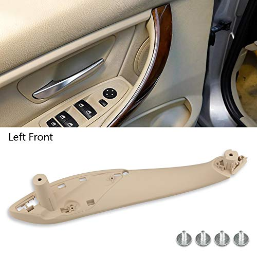 LFS Car Interior Door Handle for BMW, Inner Door Supprot Side Right and Left Front Door Handle Fit For BMW,320, 328,330,335,M3 2012-2018 & 428,435,M4 2014-2017 (Left Front Door Handle)
