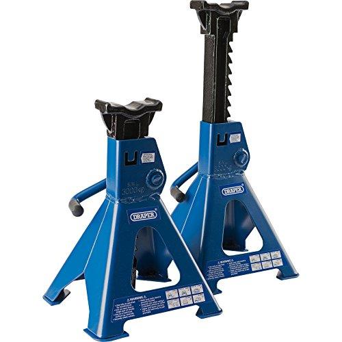 Draper 30881 Ratcheting Axle Stand, 3 Ton ...
