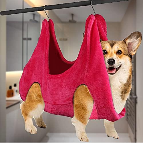 Hund Katze Pflege Hängematte, Haustier Rückhaltetasche für Hunde Katzen, Haustierpflege...