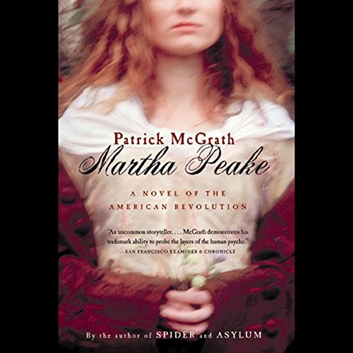 Martha Peake audiobook cover art