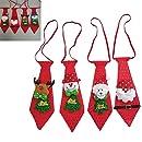 decoraci/ón de Navidad DDG EDMMS 1 Corbata de Navidad con Lentejuelas para ni/ños Fiesta de Vacaciones decoraci/ón de Vestido Olk