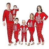 Family Matching Christmas Pajamas Sleepwear Set