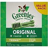 Greenies Original Canine Dental Chews Teenie Size Pictured