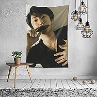 相葉雅記 Masaki Aiba タペストリー インテリア 壁掛け おしゃれ 室内装飾 多機能 寝室 カーテン おしゃれ 個性ギフト 新築祝い 結婚祝い プレゼント ウォール アート(60in*40in)