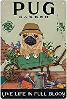 RCY-T 金属錫サイン Funny Dog Vintage Retro Sign Poster Bar Style Novelty Wall Art 8x12 inch-Sign10-12x8 inch