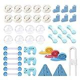 FemKey 45pcs Kits de Seguridad para Bebés, Cubiertas de