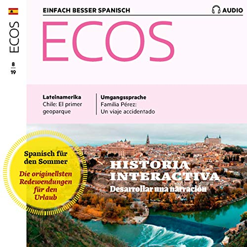 ECOS Audio - Desarrollar una narraciòn. 8/2019 cover art