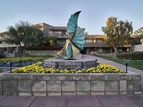 24 x 36 Giclee Print ofSculpture at The Historic Arizona Biltmore Resort in Phoenix Arizona v02 2018 Highsmith