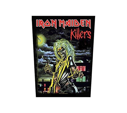 Iron Maiden Rückenaufnäher - Killers - Iron Maiden Backpatch