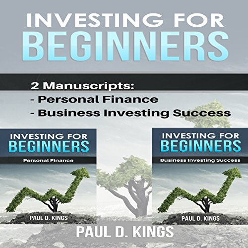 Investing for Beginners: This Book Includes Personal Finance, Business Investing Success Titelbild