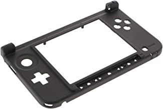 Baoblaze For Nintendo 3DS XL Replacement Hinge Part Bottom Middle Shell Housing Black