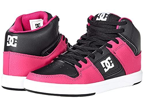 DC Cure High-Top Black/White/Pink 9 B (M)