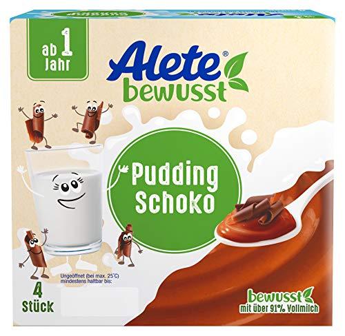 Alete bewusst Pudding Schoko Babynahrung