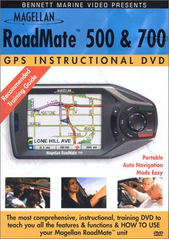 Magellan RoadMate 500/700 Instructional Training DVD