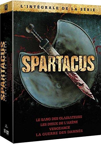Spartacus - L'intégrale de la série : Le sang des Gladiateurs +...