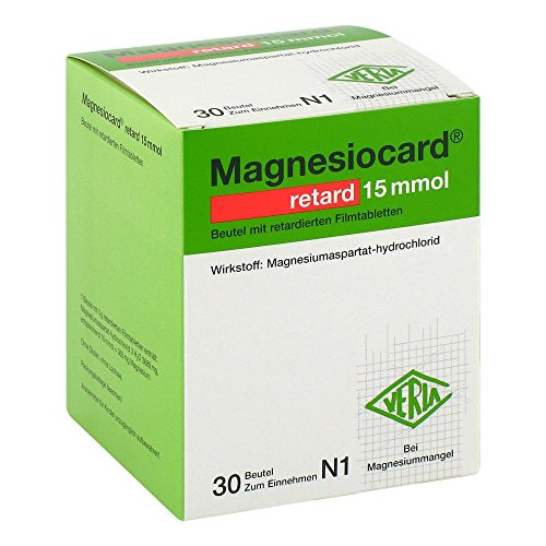 Magnesiocard retard 15 mmol, 30 St. Beutel