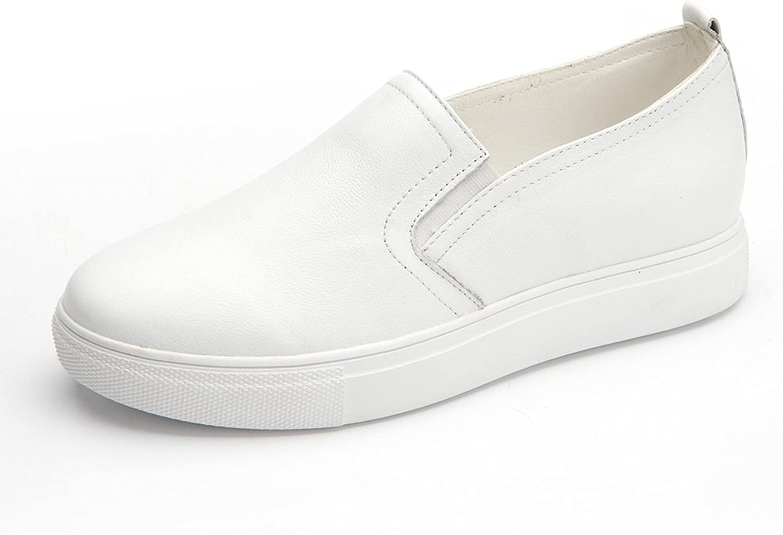 Lady autumn leisure shoes small white shoes Flat heel platform shoes