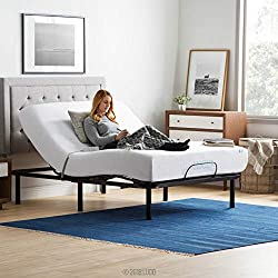 Lucid L100 Adjustable Bed Base With Remote Control