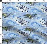 Luftfahrt, Fliegend, Flugzeuge, Flugzeug, Wasserfarben