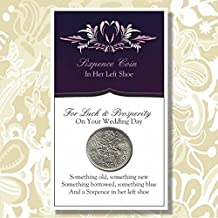 And a Sixpence in Her Left Shoe by Favors Depot