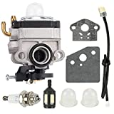 (New) Carburetor Kit Compatible with Shindaiwa 22C 22T 22F T220 Trimmers Replace 67000-81010 Carb + Free e-Book
