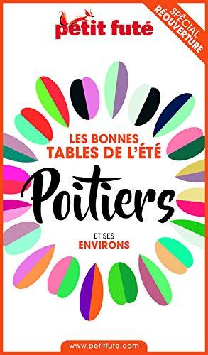 Couverture du livre BONNES TABLES POITIERS 2020 Petit Futé