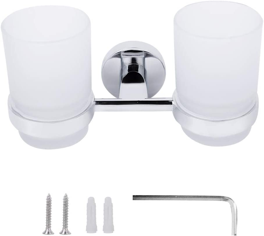 Leylor Cup Ranking TOP2 Holder Modern Bathroom 55% OFF A Toothbrush Double