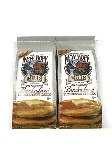 New Hope Mills Buckwheat Pancake Mix, 2 Lb. Bags (Pack of 2)