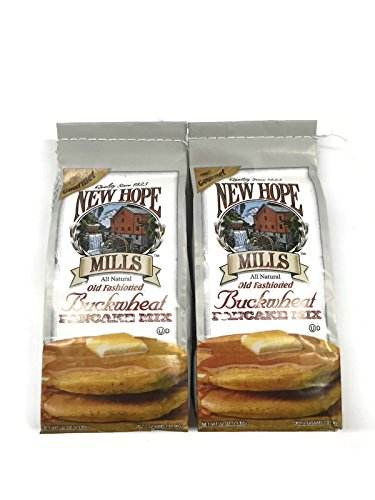 New Hope Mills Buckwheat Pancake Mix, 2 Lb. Bags (Pack of 2)