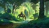 Luyshts Puzzles 1000 Piezas Adultos Rompecabezas Madera La Leyenda de Zelda para Adultos niños Arte DIY Juguetes