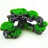 YSTSPYH Piedras Preciosas Acuario decoración Acuario paisajismo Fondo simulación Coral Coral Arrecife Coral Ornamento imitación marfilo de Piedra (Color : 16cm X8.5cm X 8cm)