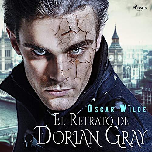 Diseño de la portada del título El retrato de Dorian Gray