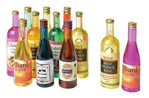 Mini-bouteilles, 12 pièces