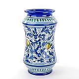 Zoom IMG-2 vaso farmacia siciliano in ceramica