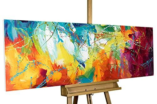 KunstLoft® Acryl Gemälde 'Bright Future' 150x50cm handgemalt Leinwand Bild