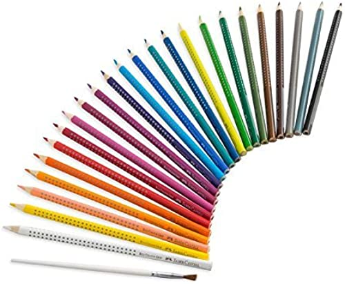 Faber Castell WaterFarbe EcoPencils, set of 24 by Frontier