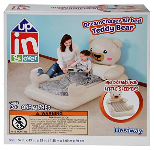 Up, In & Over 74' x 43' x 35' DreamChaser Airbed - Teddy Bear