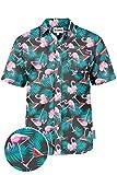 Tipsy Elves The Tall Martini Hawaiian Shirt: Medium