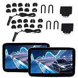 Monitor De Reposacabezas, Pantalla Grande De Alta Definición De 11,6 Pulgadas, Múltiples Formatos, Reproductor De Video Con Sonido Envolvente De Gran Capacidad Para Una Experiencia De