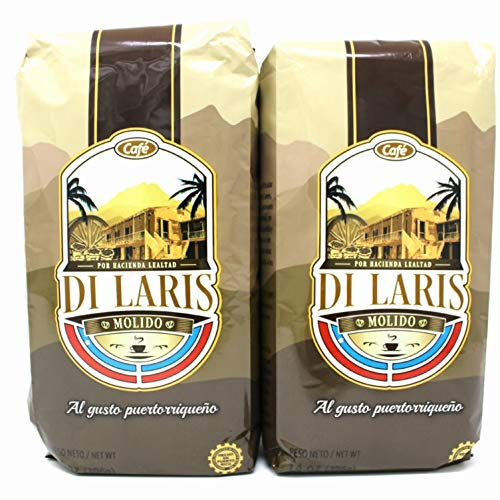 Cafe Di Laris - Puerto Rican Coffee - 14oz (2pack)