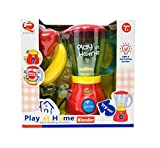 Coolbitz Realistic Fruit Blender Kitchen Appliance Toy Set for Kids| Musical Toy for Girl Gifts Cooking Set Kids Kitchen Play Set for 2, 3, 4 Year Old