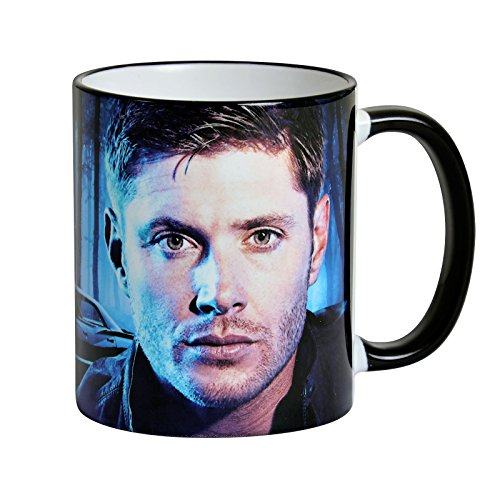 Elbenwald Supernatural Tasse Dean Winchester and The Impala 320ml Keramik blau