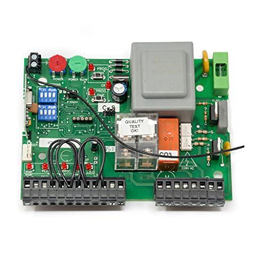 Placa de control Placa VDS EURO 230 M1 Cuadro de control para motores de corredera, basculantes contrapesadas, barreras entre otras aplicaciones. Alimentado a 230Vac.