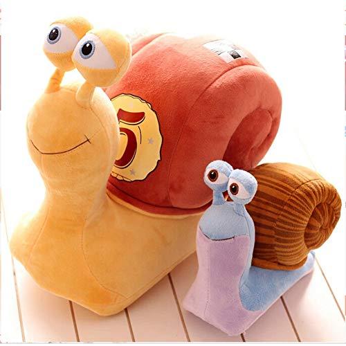 suhang 21 cm Cartoon 3D Plüschtier Kuscheltier Spielzeug Kühle Turbo Geschwindigkeit Schnecke Plüschtiere Für Kind Geburtstagsgeschenk