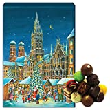 Hallingers Pralinen-Adventskalender - München (Advents-Karton)