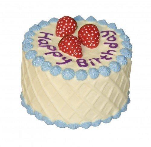 Kerbl Tarta de cumpleaños Perro de Peluche, 10cm