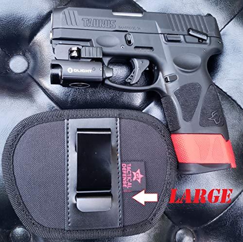 CR Tactical Defense IWB Midsize Gun Holster (Black, Medium)