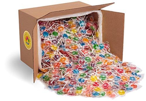 Fruit Lollipops by Candy Creek, Bulk 18 lb. Carton, Assorted Flavors